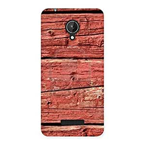 Pale Red Designer Back Case Cover for Micromax Canvas Spark Q380