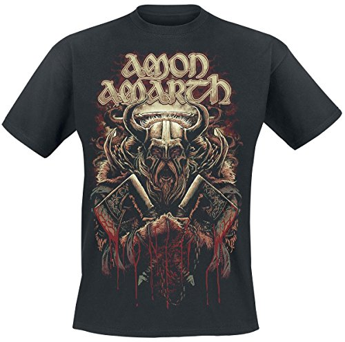 Amon Amarth Viking T-Shirt nero L