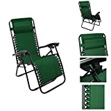 Magshion*1Pc Green Recliner Lounge Chair Adjustable Ankle Upright