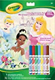 Crayola Disney Princess Colouring Pages & 7 Washable Markers