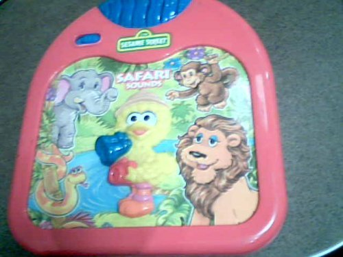 1998 Tyco Preschool Toys, Inc. The Jim Henson Company Tyco Ctw Sesame Street Safari Sounds W/sesame Street Big Bird Button - 1