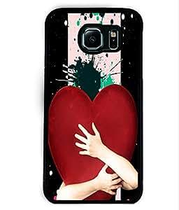 PrintVisa Metal Printed Numeric Designer Back Case Cover for Samsung Galaxy S6 Edge G925I-D4766