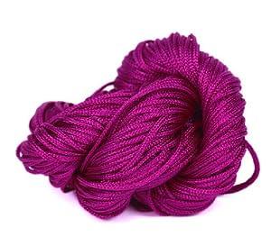 EOZY Trenzada Línea Cuerda De Nylón Para Nudo China 27m*1mm Púrpura   Comentarios de clientes y más información
