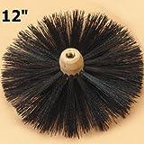 Tongwei Metal PF-12 Sweepsall 12 Inch Round Brush