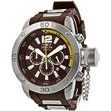 Invicta Signature II Russian Diver Brown Dial Chronograph Mens Watch 7426