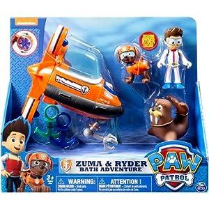 Paw Patrol Zuma & Ryder Bath Adventure