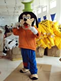 Warmcos Goofy Mascot Costume Cartoon Character Fancy Dress Outfit thumbnail