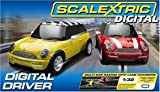 Scalextric C1197 1:32 Scale Digital Driver Race Set (Mini Cooper)