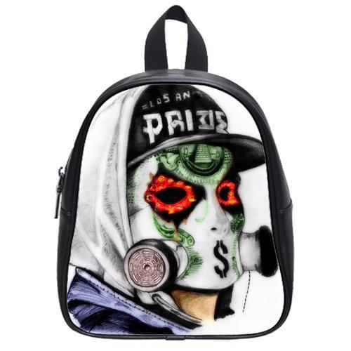 Halloween Amazing Phoenix High-Grade Pu Leather School Bag/Backpack(Medium)