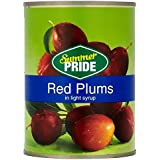 John West Red Plums in Syrup (570g)
