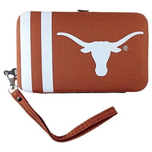 ncaa-texas-longhorns-shell-wristlet-35-x-05-x-6-inch-brown-by-littlearth