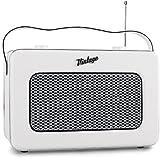 AKAI - APR-200 W Radio - Transistor Retro - Tuner AM/ FM - Portable 2 W - Blanc