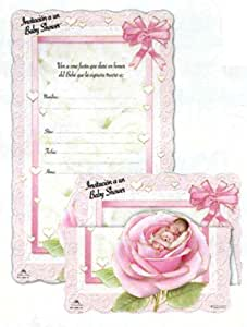 100 tri fold baby shower invitations in spanish baby