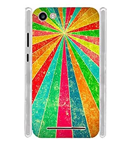 Vintage Pattern Soft Silicon Rubberized Back Case Cover for Micromax Spark 2 Plus Q350