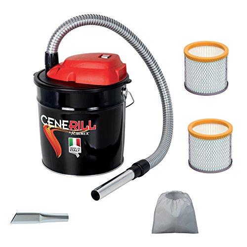 Aspiracenere elettrico CENERILL 800 W made in italy con 2 filtri hepa e 1 lancia in omaggio