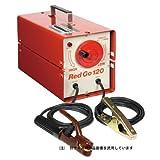 レッドゴー 交流アーク溶接機 100/200V兼用 能力1.4~3.2mm SSY-122R 60Hz【スズキット】