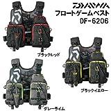 ダイワ(Daiwa) フロートゲームベスト ブラックレッド フリー DF-6206