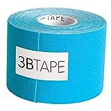 3B Scientific Blue Cotton Rayon Fiber Kinesiology Tape, 16' Length x 2