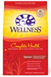 Wellness Complete Health Natural Dry Dog Food, Senior Health Chicken & Barley Recipe, 30-Pound Bag