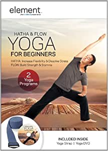 Element: Hatha & Flow Yoga For Beginners w/ Yoga Strap Kit