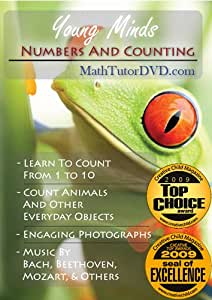 Young Minds - Numbers and Counting - (Math Tutor DVD Series)
