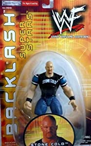 Buy JAKKS Pacific Toys - STONE COLD STEVE AUSTIN - WWE WWF Wrestling Exclusive Backlash Toy Figure by Jakks Pacific