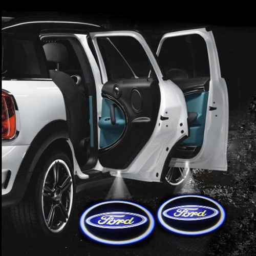 2Pcs 1Pair Wireless Ghost Shadow Car Door Logo Led Laser Ford Welcome Projector Light (Usa Fast Shipping)