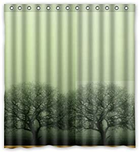 Japanese Cherry Blosso Novelty Shower Curtain 66 X 72