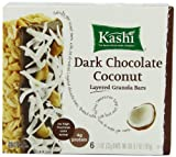 Kashi TLC Fruit & Grain Bar, Dark Chocolate Coconut, Layered Granola Bars 6 - 1.1 oz  Bars, (Pack of 6)