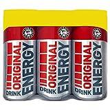 Euro Shopper Original Energy Drink 6 x 250ml (Pack of 4 x 6x250ml)