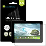 GreatShield® Asus MeMO Pad FHD 10 Tablet [Duel Mark II] Ultra Smooth Anti-Glare [Matte] Screen Protector Film - 3 Pack - Lifetime Replacement Warranty