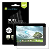 GreatShield Ultra Anti-Glare (Matte) Clear Screen Protector Film for Asus MeMO Pad FHD 10 (3 Pack) - LIFETIME WARRANTY
