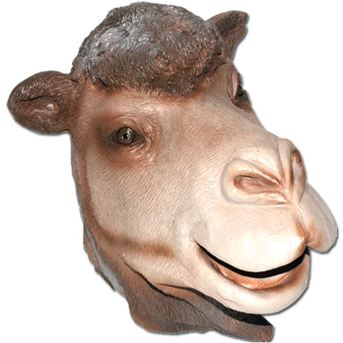 Hump Day Camel Full Face Soft Latex Rubber Mask