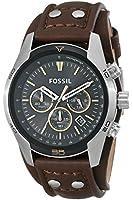 Fossil - CH2891 - Montre Homme - Quartz Chronographe - Chronomètre - Bracelet Cuir Marron