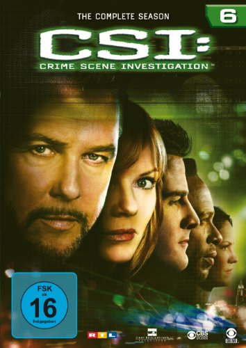 CSI: Crime Scene Investigation - Die komplette Season 6 [6 DVDs]