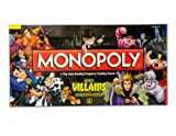 Walt Disney Parks Villians. Collectors Edition Monopoly Official Merchandise of Walt Disney World