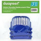 Duogreen iRobot Roomba 550, AeroVac 20938 Replacement Filter 3Pack