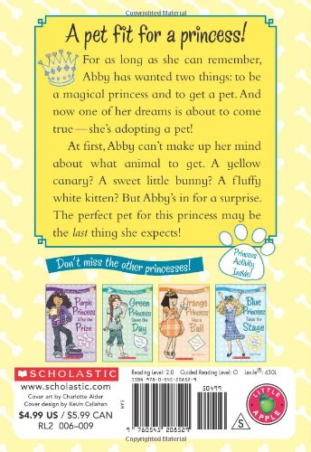 Yellow Princess Gets a Pet (Perfectly Princess)