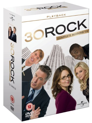 30 Rock - Season 1-4 (2010) Alec Baldwin; Tina Fey