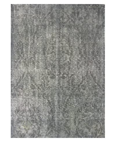 Meva Rugs Medallion Hand Knotted Rug, Grey, 2' x 3'