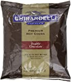 Ghirardelli Chocolate Premium Hot Cocoa Mix, Double Chocolate, 32 Ounce Package