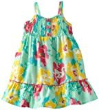 Little Lass Baby-Girls Newborn 1 Piece Woven Dress With Stripes