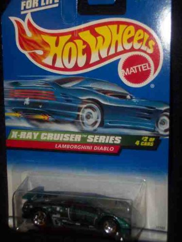 X-Ray Cruiser Series #2 Lamborghini Diablo #946 Mint