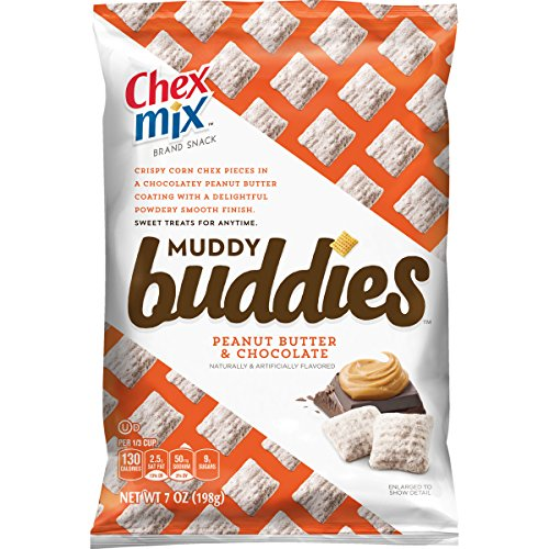 Chex Muddy Buddies Snack Mix, Peanut Butter and Chocolate, 7 Ounce (Pack of 10) (Chex Mix Chocolate Peanut Butter compare prices)