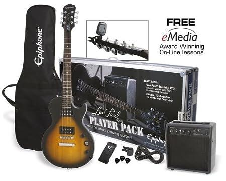 Epiphone Guitar Pack Series PPEG-EGL1VSCH1 Electric Guitar Pack - Vintage Sunburst