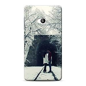 Inkif Printed Designer Case Mobile Back Cover For Microsoft Lumia 535