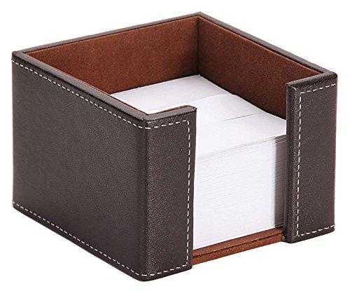 Osco faux leather letter holder brown osco europe for Fourniture de bureau