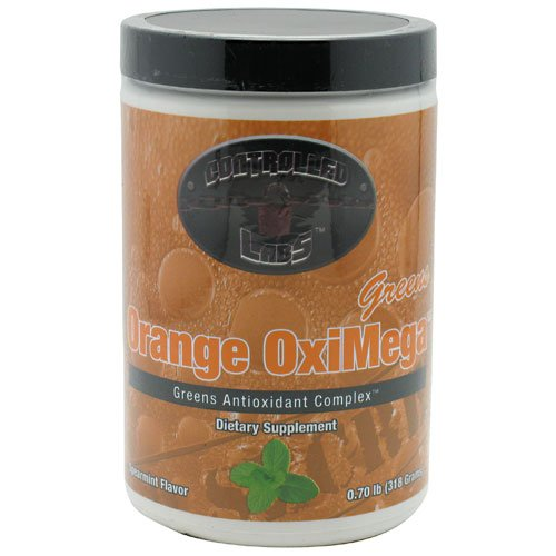 Controlled Labs Orange Oximega Greens Spearmint -- 0.7 Lb