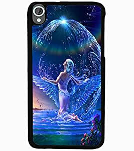 ColourCraft Beautiful Angel Design Back Case Cover for HTC DESIRE 820