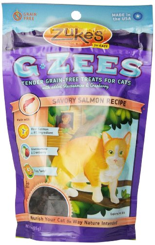 Zuke'S Cat G-Zees Savory Salmon Recipe, 3-Ounce